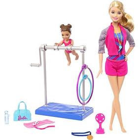 Boneca Barbie Treinadora De Ginástica - Original Mattel