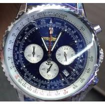 Relogio Luxo Tr78 Bentl Breitl 1884 Quartz Azul Qualidade
