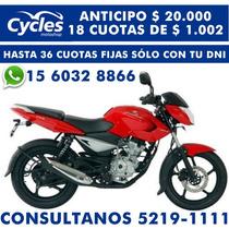 Bajaj 135 Rouser - Anticipo $ 20.000 Y 12, 15 Y 18 Cuotas