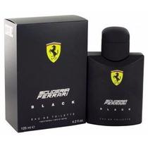 Perfume Ferrari Black 125ml 100% Original Lacrado Oferta