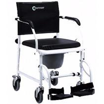 Cadeira De Rodas E Cadeira De Banho Multiuso 2 Em 1