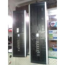 Computadora Hp Completa Core2duo 2gb/ Dd 80 Gb/dvd- Mon 19