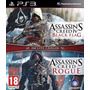 Assassins Creed Naval Edition Black Flag Y Rogue Ps3 Lgames