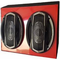 Caixa Porta Malas De Alto Falante 6x9 Pioneer Marfimvermelha