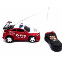 Carro Carrinho De Controle Remoto Policia