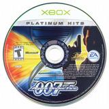 James Bond 007 Agent Under Fire Disco Original Xbox Ntsc