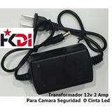 Transformador 12v 2amp Camara Seguridad Tienda Fisica Ccs