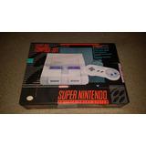 El Mejor Super Nintendo Impecable Snes Completo Original 2j