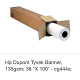 Papel Para Plotter Dupont Tyvek Hp Cg444a