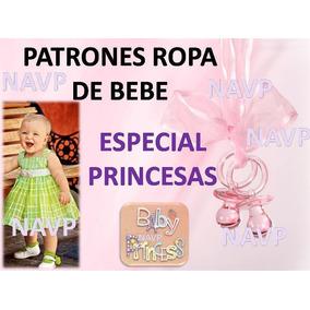 Patrones De Vestidos Para Niñas Tallas Moldes Bebe Princesa