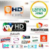 Kit Receptor Tv Digital Hd + Antena + Otros - Canales Gratis