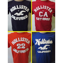 Kit C/ 6 Camisetas Mascullina Hollister Abercrombie Compre