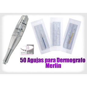 50 Agujas Para Delineado Permanente, Dermografo Merlin