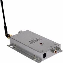 Receptor Para Câmera Sem Fio - Só O Receptor 1.2ghz E Fonte