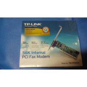 Tp-link Fax Moden Pci 56k Nuevo Caja Sellada
