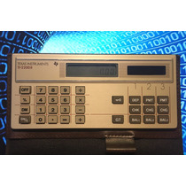 Calculadora Texas Instruments Ti-2200ii Checkwriter Solar
