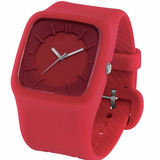 Reloj Converse Clocked Vr004 50m Wr Acero Siliconado