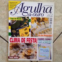 Revista Agulha De Ouro 71 Jun2002 Festa Babies Disney Bordar