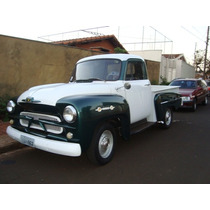 Chevrolet Brasil Ano 1962 Restaurada Verde E Branca Ou Troco