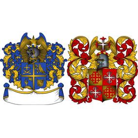 Brasão De Armas (família) Em Desenho Digital
