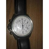 Relógio Orient Chronograph Ppim-195 Pulseira De Couro