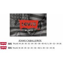 Jeans Levis Para Hombre Modelos 501 Y 505