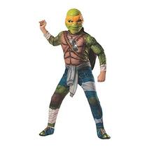 Disfraz Tortugas Ninja Mutantes Para Niño Talla L
