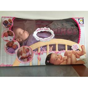 Boneca Bebê Ninos Igual De Verdade Peso E Cheirinho De Bêbe