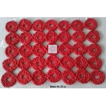 Alfombritas Tejidas Al Crochet En Totora Ultimas!!!