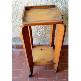 Mueble antiguo repisa para tel fono con cajon de calidad for Mueble para telefono