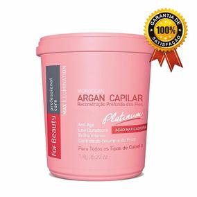 Btox Capilar For Beauty Max Illumination Platinum Matiz 1kg