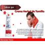 Crema De Tomillo - Just Solo Envíos!