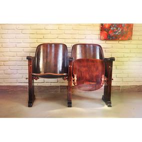 Cadeira / Poltrona / Longarina Cinema Cimo Anos 50 - Dupla