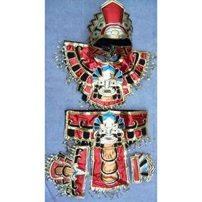 Traje Azteca Danzantes Concheros Danza Prehispanica C Envio