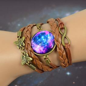 Pulseira Feminina Galaxia Nebulosa