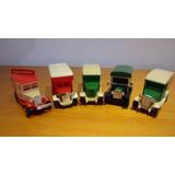 Antigos Caminhões Coca-cola Colecionável Lote 5 Peças