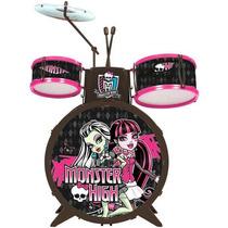 Bateria Infantil Monster High Instrumentos Musicais