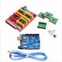 Arduíno Placa Shield V3 Para A4988 Impressora 3d