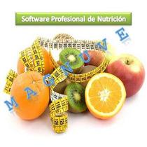 Software De Nutrición + Programa De Dietas + Control De Peso