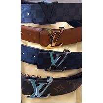 Cinturon Cinto Louis Vuitton Original 100% Varios Estilos