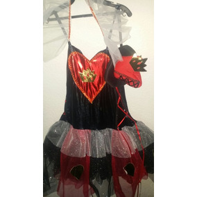 Disfraz Reina De Corazones Adulto Dama