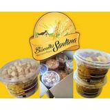 Biscoitos Amanteigados Finos - Santana (caixa 18 Potes-400g)