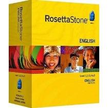 Curso Inglês Rosetta Stone Completo
