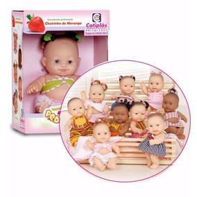 Boneca Bebê Mini Pedacinhos 1558 Cotiplás Linda Alive