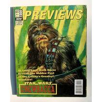 Previews Catalogo De Comics, En Inglés Libro Importado 1999