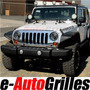 Jeep Wrangler Parrilla Cromada Completa Lujo Importada Sp0