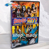 Scooby-doo! Y Kiss El Misterio Del Rock And Roll - 1 Dvd