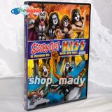 Scooby-doo! Y Kiss El Misterio Del Rock And Roll - 1 Dvd