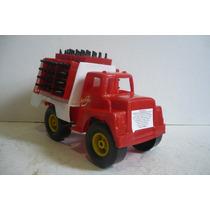 Camion Repartidor D Refrescos - Camioncito De Juguete Escala