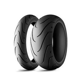 Par Pneu Michelin 120/70-18 + 180/55-17 Scorcher Xr 1200x